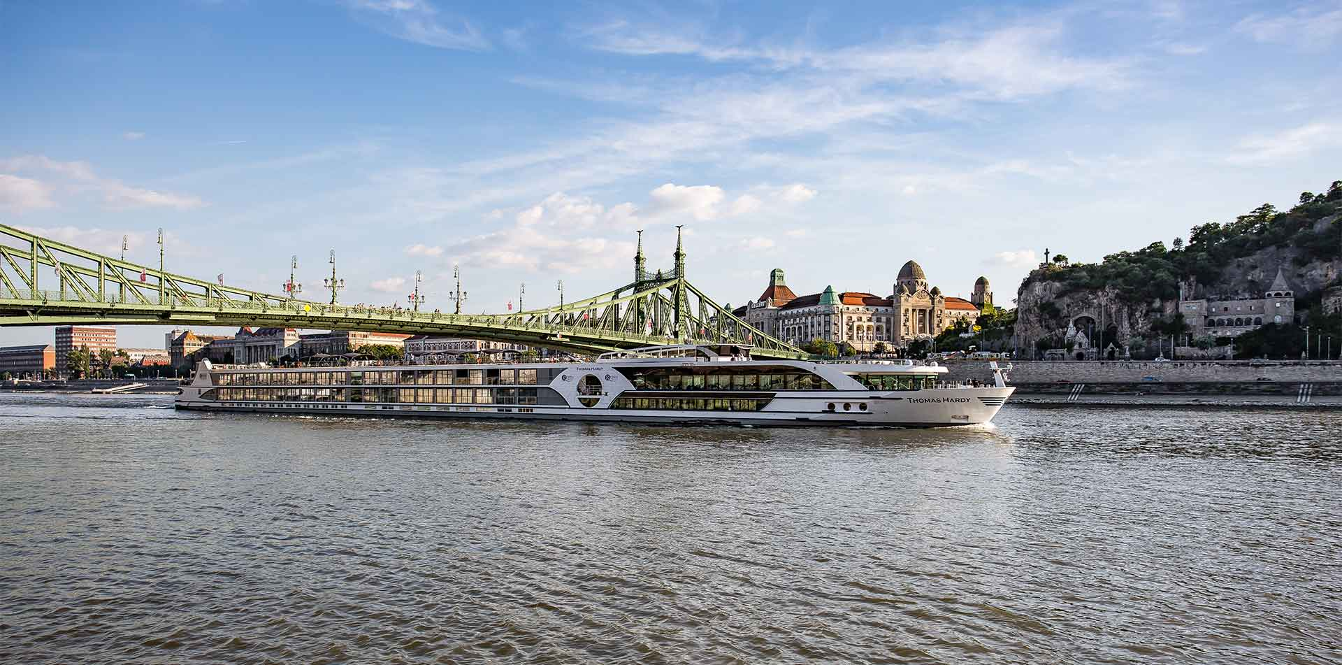 Europe Czech Republic Riviera River Cruise ship MS Thomas Hardy on the Danube River - luxury vacation destinations