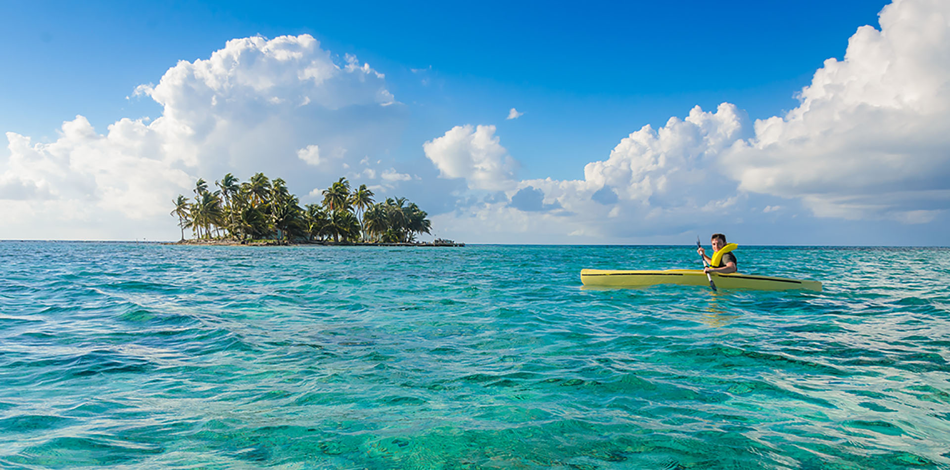 Kayaking, Belize