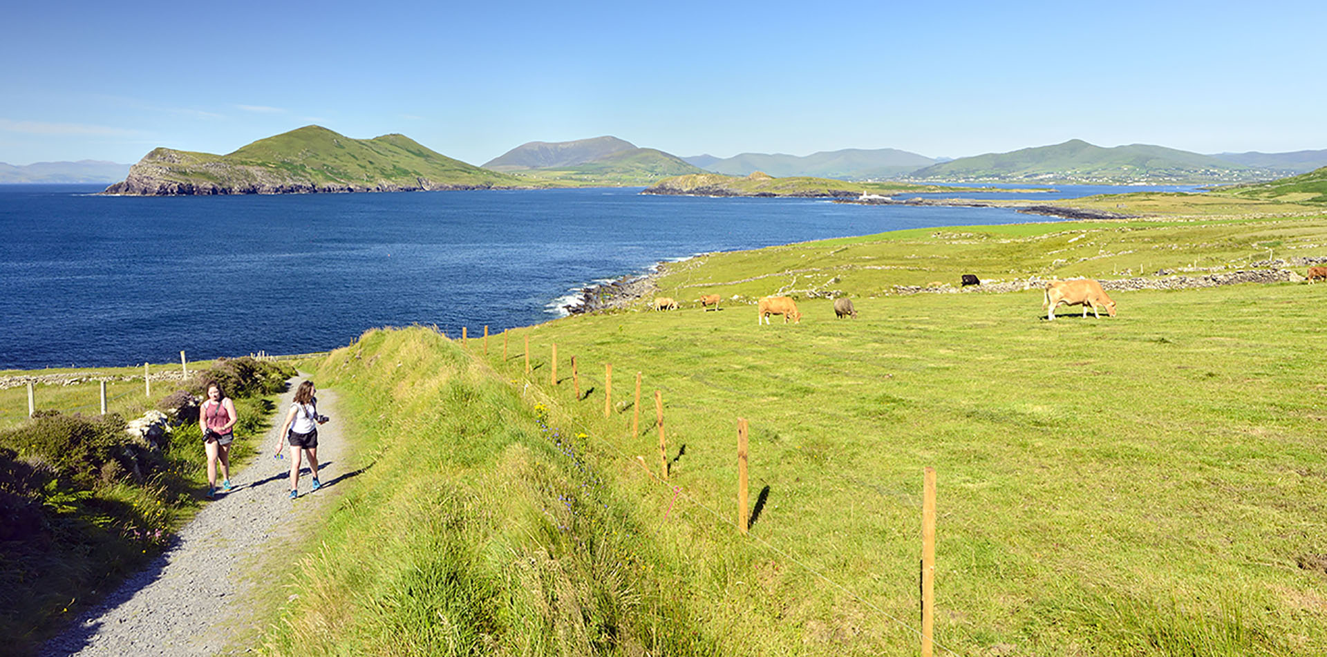 Ireland Europe Scenery Group Walking Countryside Hiking Travel - luxury vacation destinations