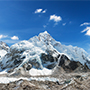 Panoramic view of Himalayas