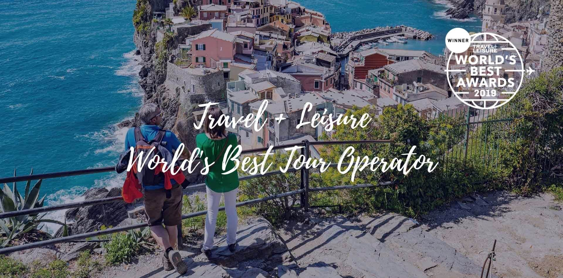 Europe Italy Cinque Terre Vernazza Travel + Leisure Worlds Best Tour Operator colorful village - luxury vacation destinations