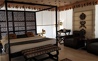 Asia India Rajasthan Pushkar The Greenhouse Resort hotel guest room - luxury vacation destinations