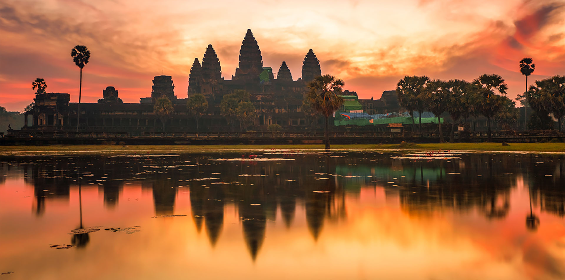 Angkor Wat sunrise at Siem Reap, Cambodia