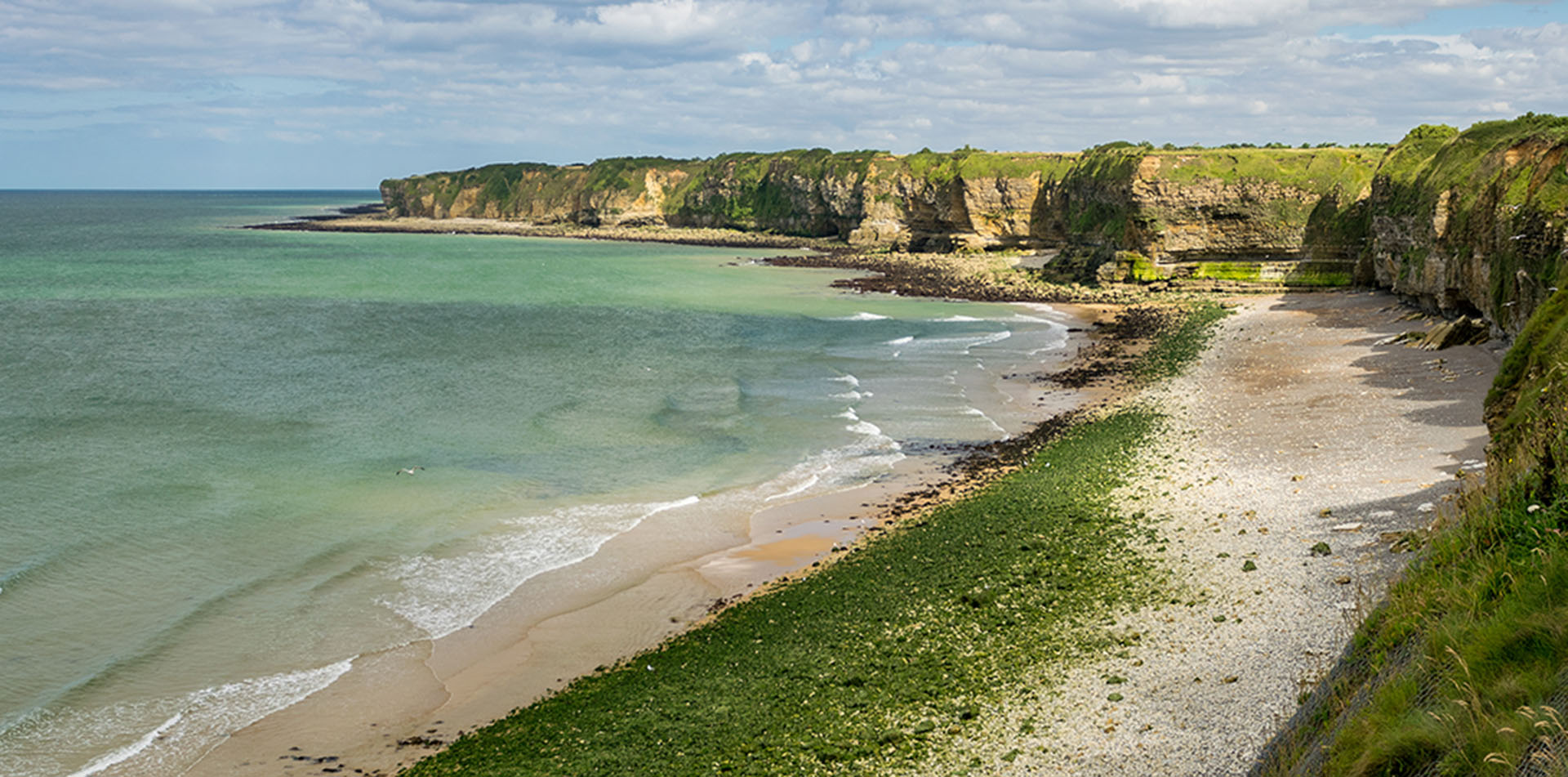 Pointe du Hoc Beach, Normandy, France