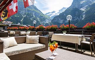 Europe Switzerland beautiful Swiss Alps mountains scenic rides countryside Post Hotel - luxury vacation destinations