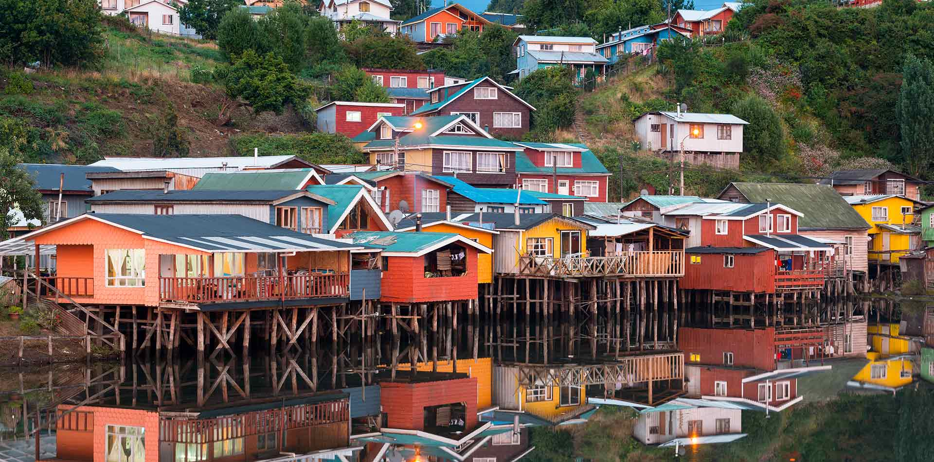 Traditional Stilt Houses, Chile
