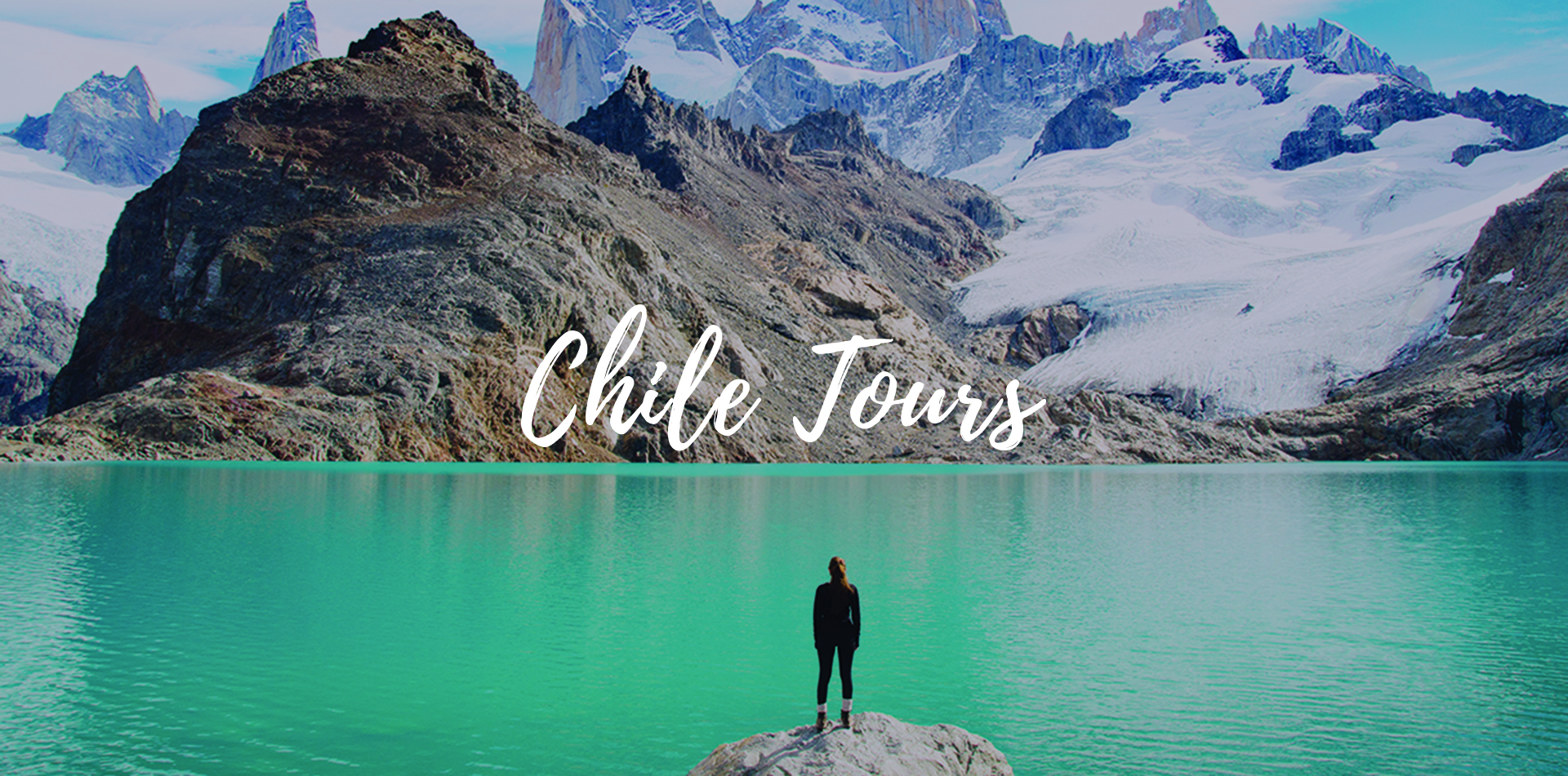 South America Chile Blue Lake Beautiful View Scenic Hike Explore - luxury vacation destinations