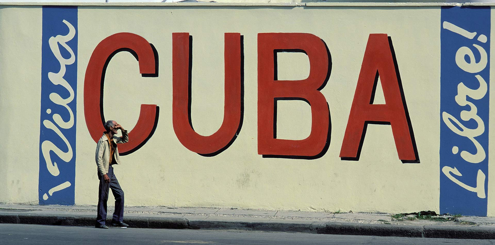 North America Caribbean Cuba Havana mural painting art viva libre man street vibrant - luxury vacation destinations