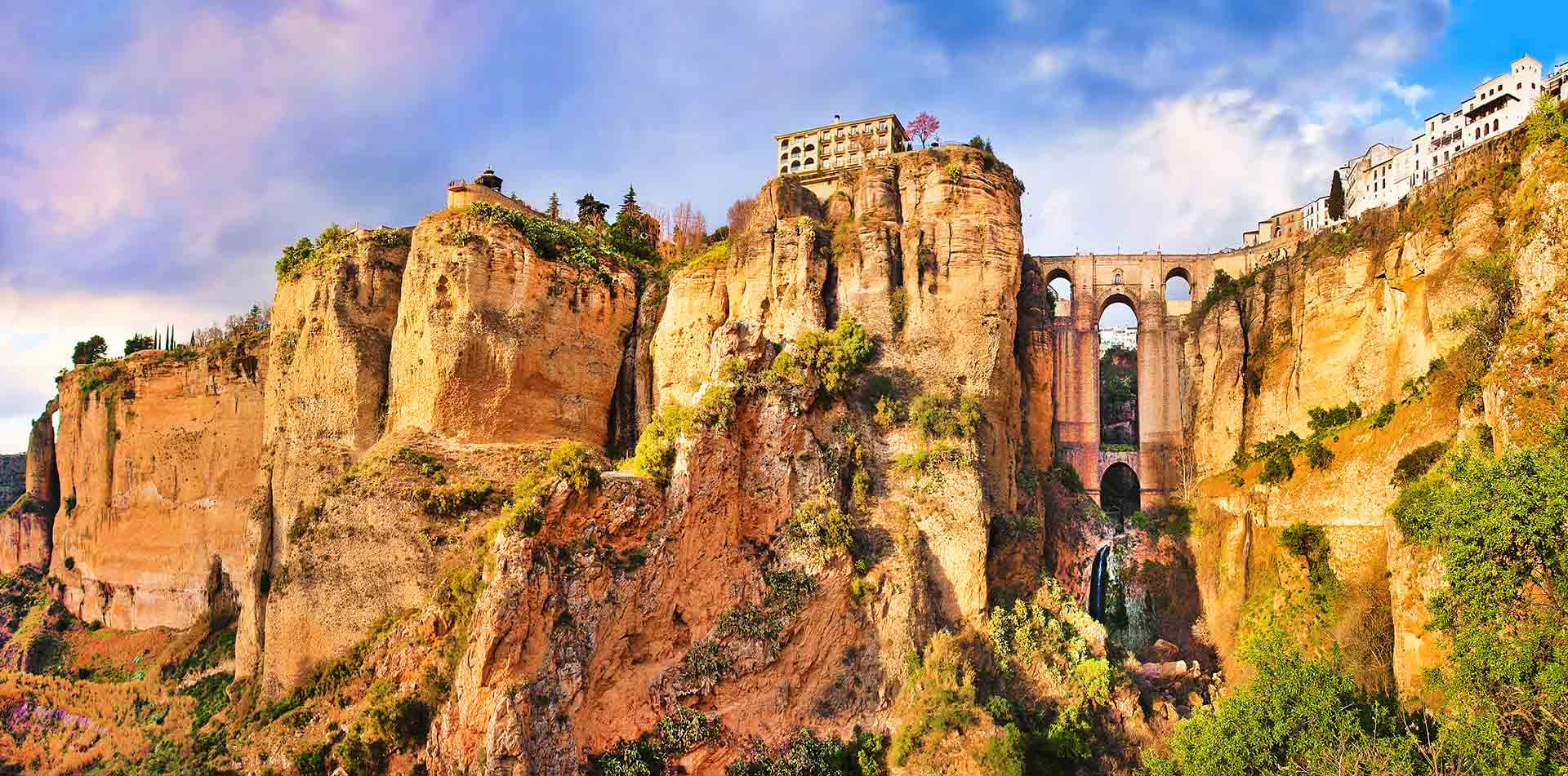 Europe Spain beautiful Mediterranean coast lively culture food countryside old city ronda- luxury vacation destinations