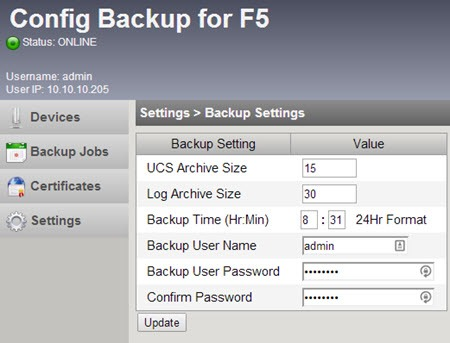 Config Backup for F5 Review DevCentral