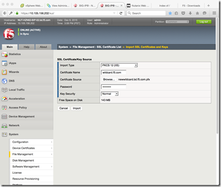 Using an F5 iApp to Install and Configure VMware Horizon