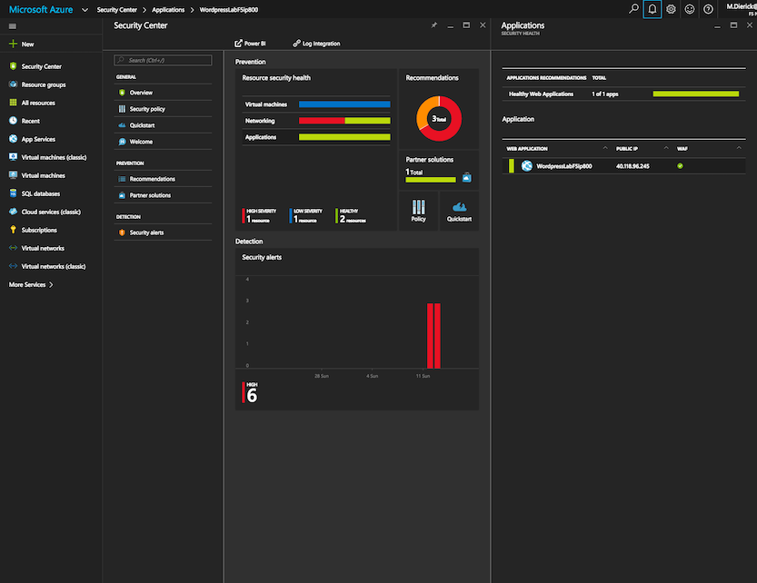 Azure Security Center - How to protect your Web Applications