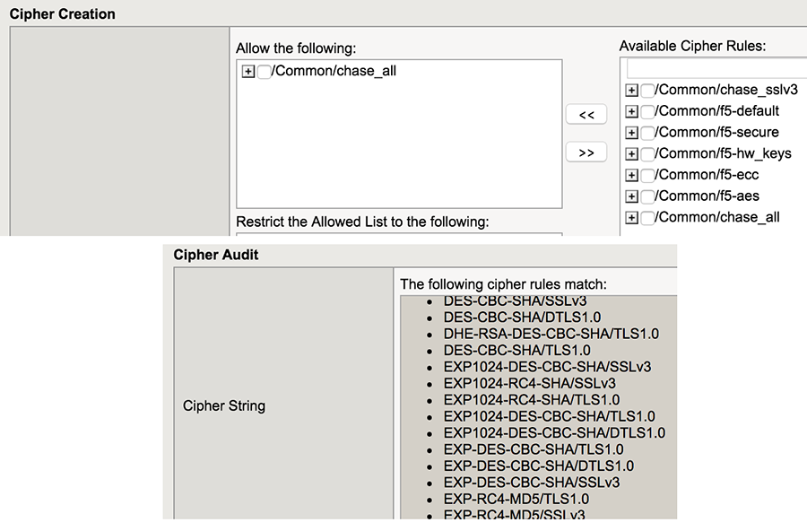 Cipher Rules And Groups in BIG-IP v13 DevCentral