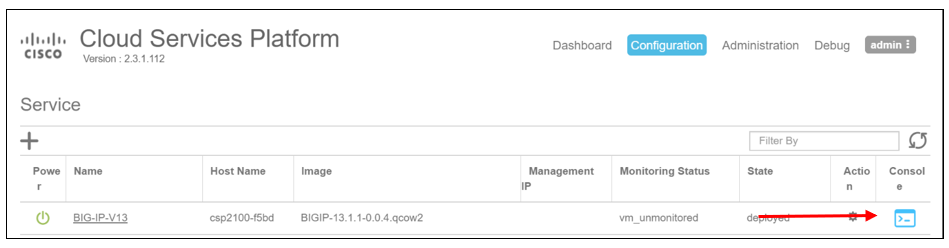 How to onboard F5 BIG-IP VE in Cisco CSP 2100 for NFV solutions