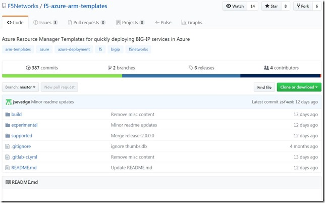 Deploy BIG-IP VE in Microsoft Azure Using an ARM Template