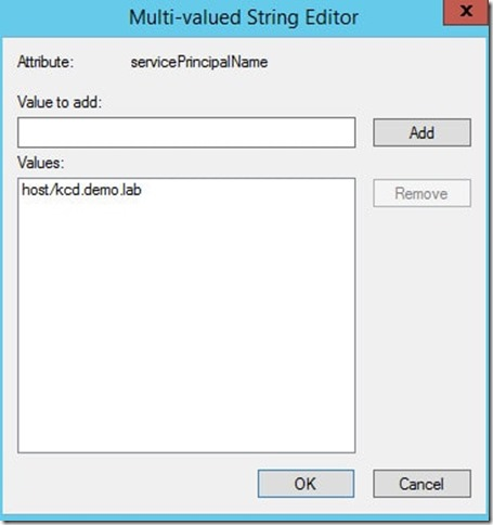 Configuring Smart Card Authentication and Kerberos Constrained