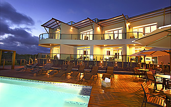 South America Ecuador Galapagos Islands Iguana Crossing hotel eco friendly exterior pool -luxury vacation destinations