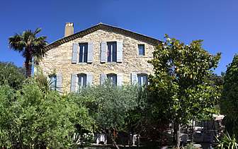 Europe France Provence Hostellerie Le Castellas exterior view of hotel - luxury vacation destinations