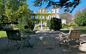 Europe France Provence Chateau de Varenne hotel classic exterior gardens - luxury vacation destinations