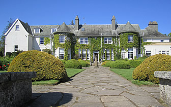 Europe United Kingdom Scotland St. Andrews Rufflets Country House historic turreted exterior - luxury vacation destinations
