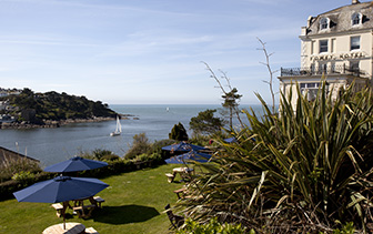 Europe United Kingdom England Cornwall Fowey Hotel beautiful water view - luxury vacation destinations