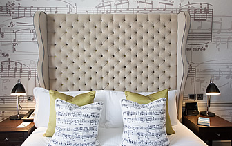 Europe United Kingdom England Cotswolds Ampersand Hotel guest bedroom - luxury vacation destinations