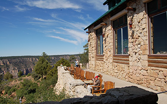 North America United States USA Arizona Grand Canyon Lodge North Rim scenery view relax - luxury vacation destinations