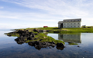Europe Iceland Snaefellsnesnes Hotel Budir rural countryside hotel on waterfront - luxury vacation destinations