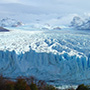 South America Argentina Santa Cruz aerial view of Perito Moreno Glacier - luxury vacation destinations