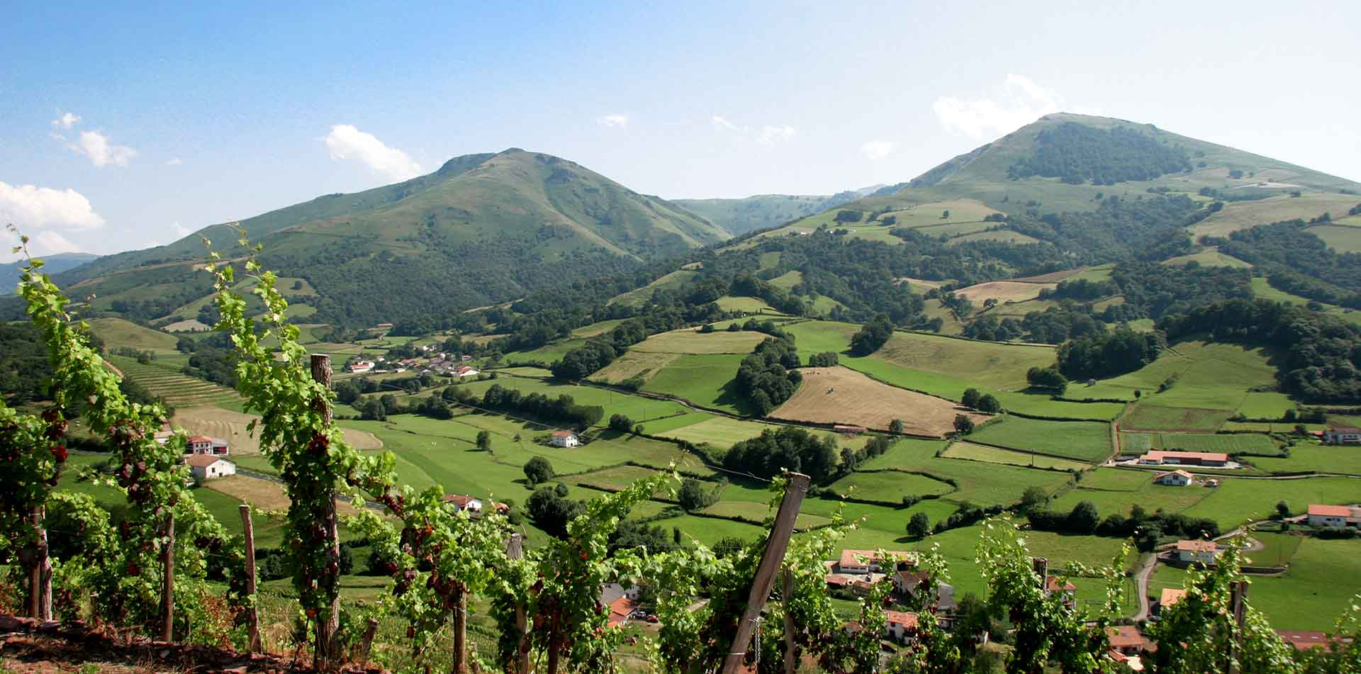 Countryside of Arce, Basque Pyrenees, Spain & France