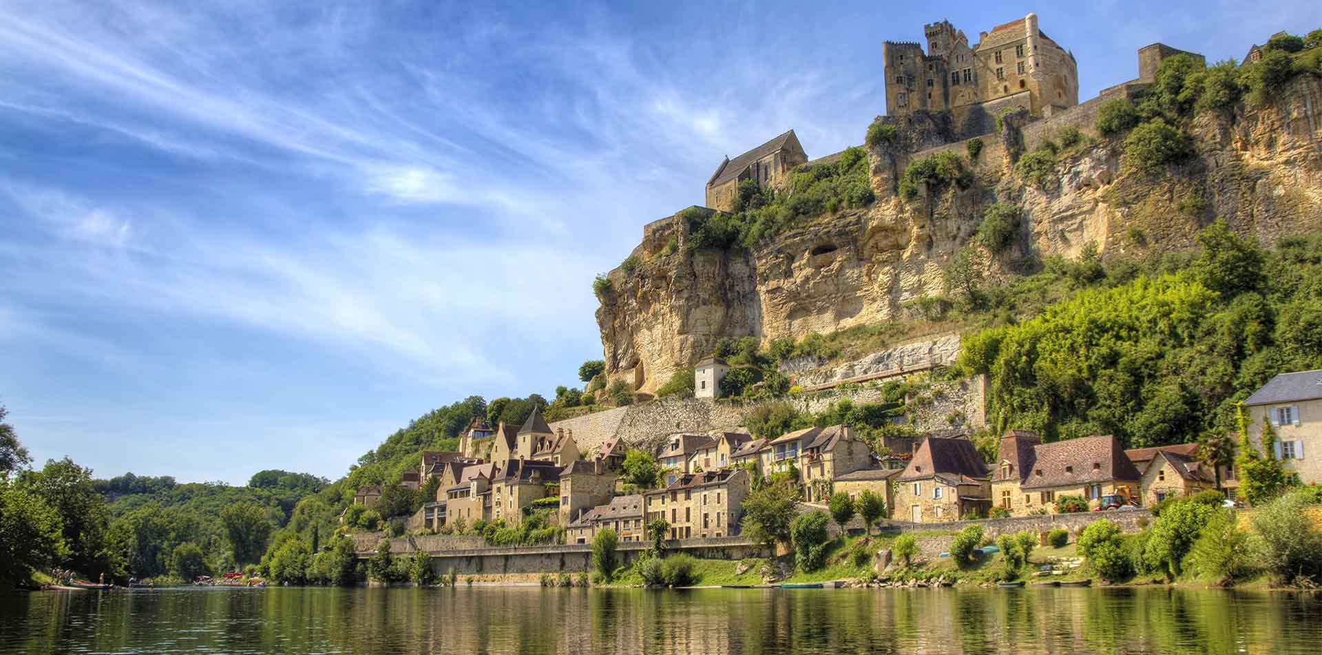 Europe France Bordeaux green meadows medieval quaint beautiful coastline - luxury vacation destinations