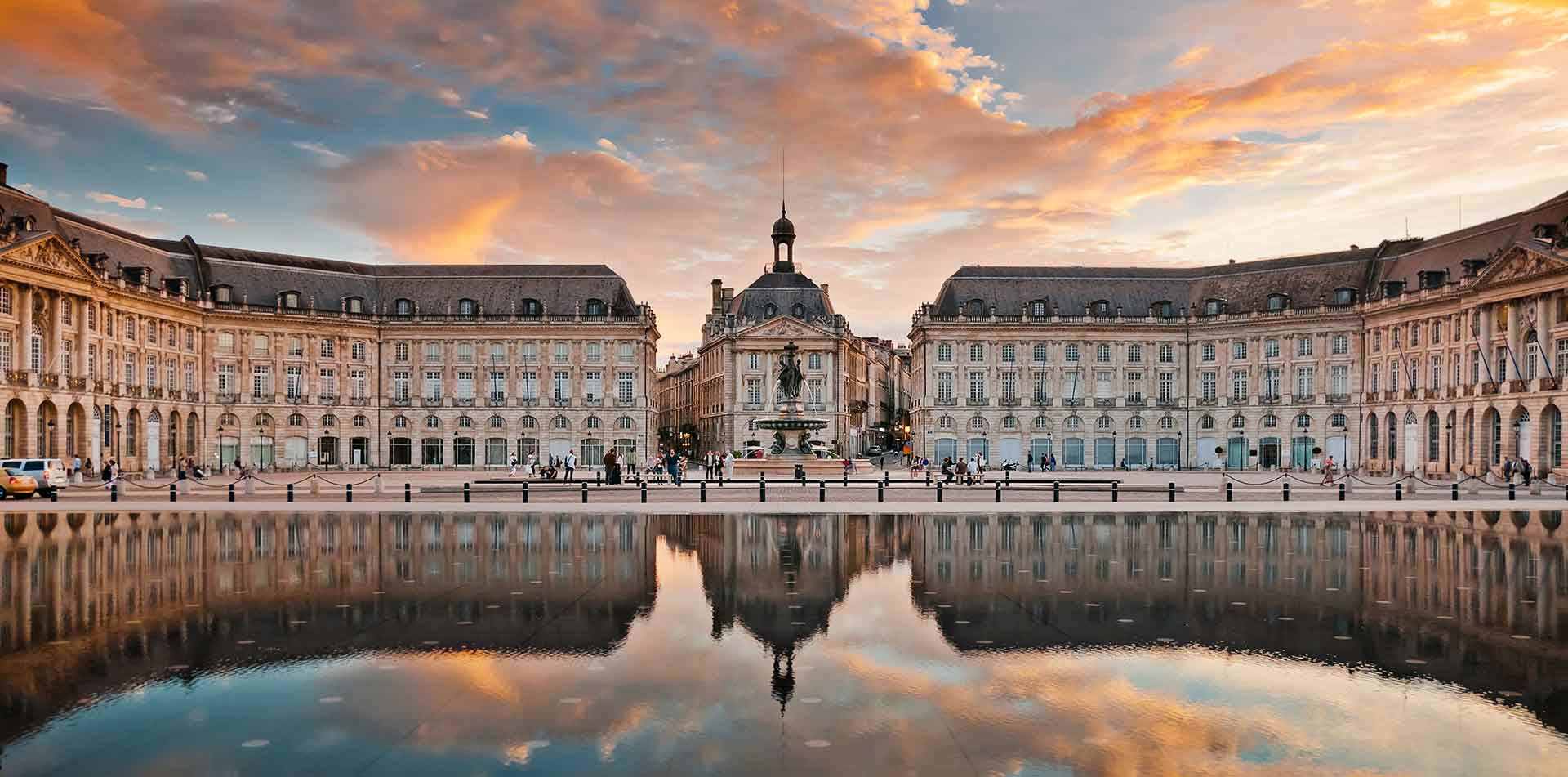 Europe France Bordeaux city center medieval quaint beautiful coastline - luxury vacation destinations