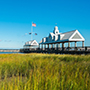 North America United States South Carolina Charleston harbor field marsh waterfront- luxury vacation destinations