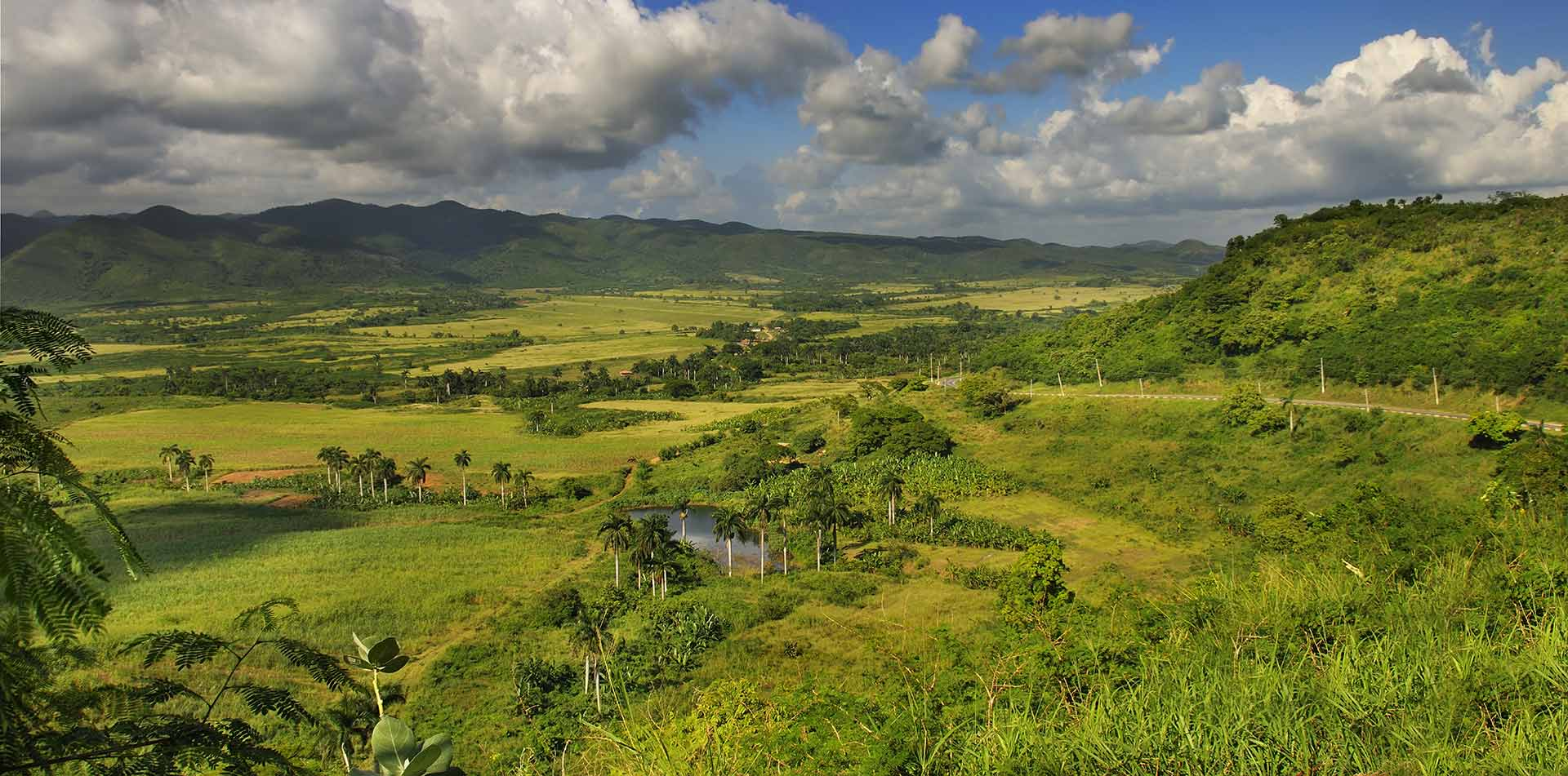 North America Caribbean Cuba Pinar del Rio Vinales Valley countryside view lush nature green - luxury vacation destinations