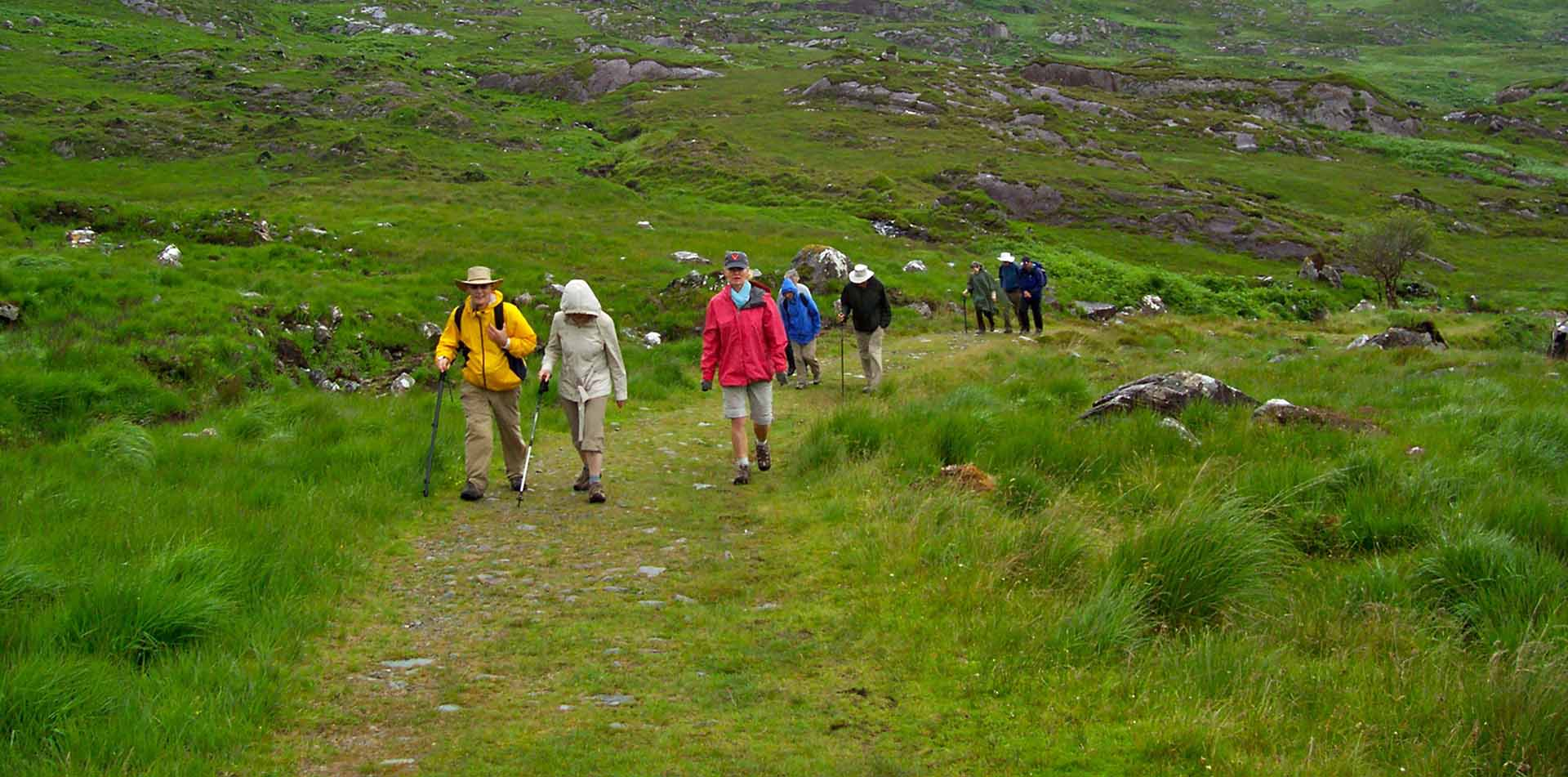 People Walking in Ireland