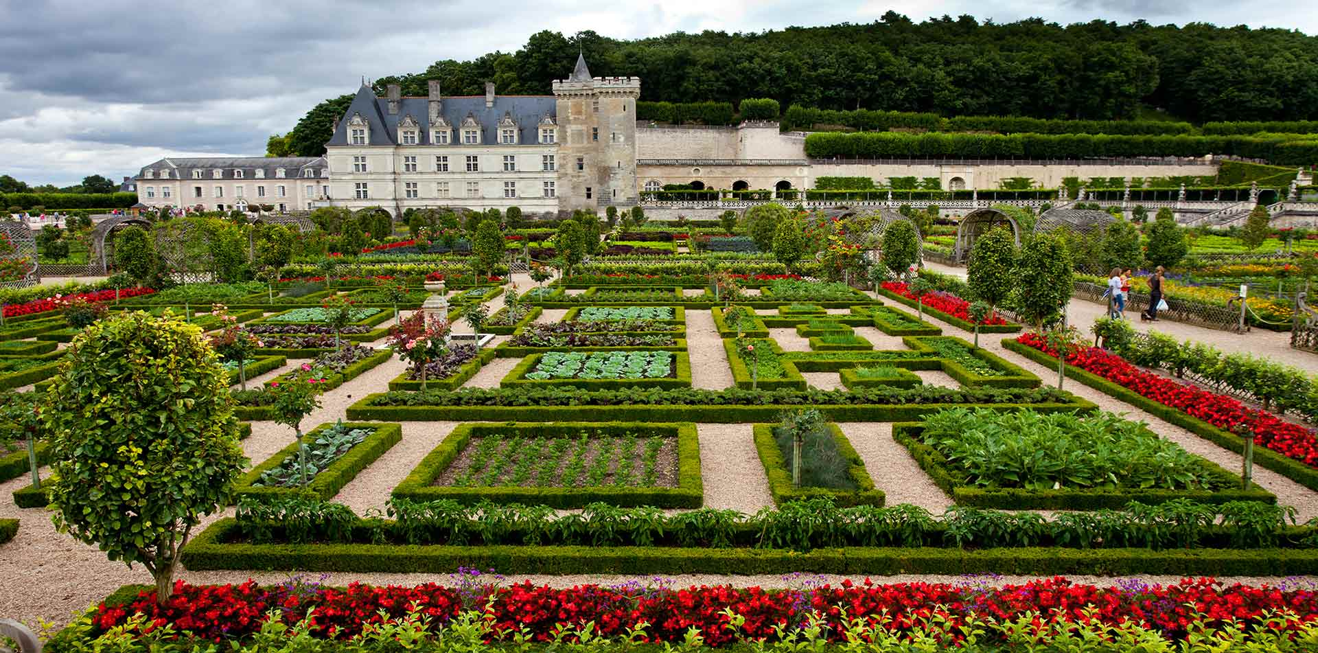 Villandry Castle Loire, France