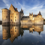 Europe France Château de Sully-sur-Loire castle on the water - luxury vacation destinations