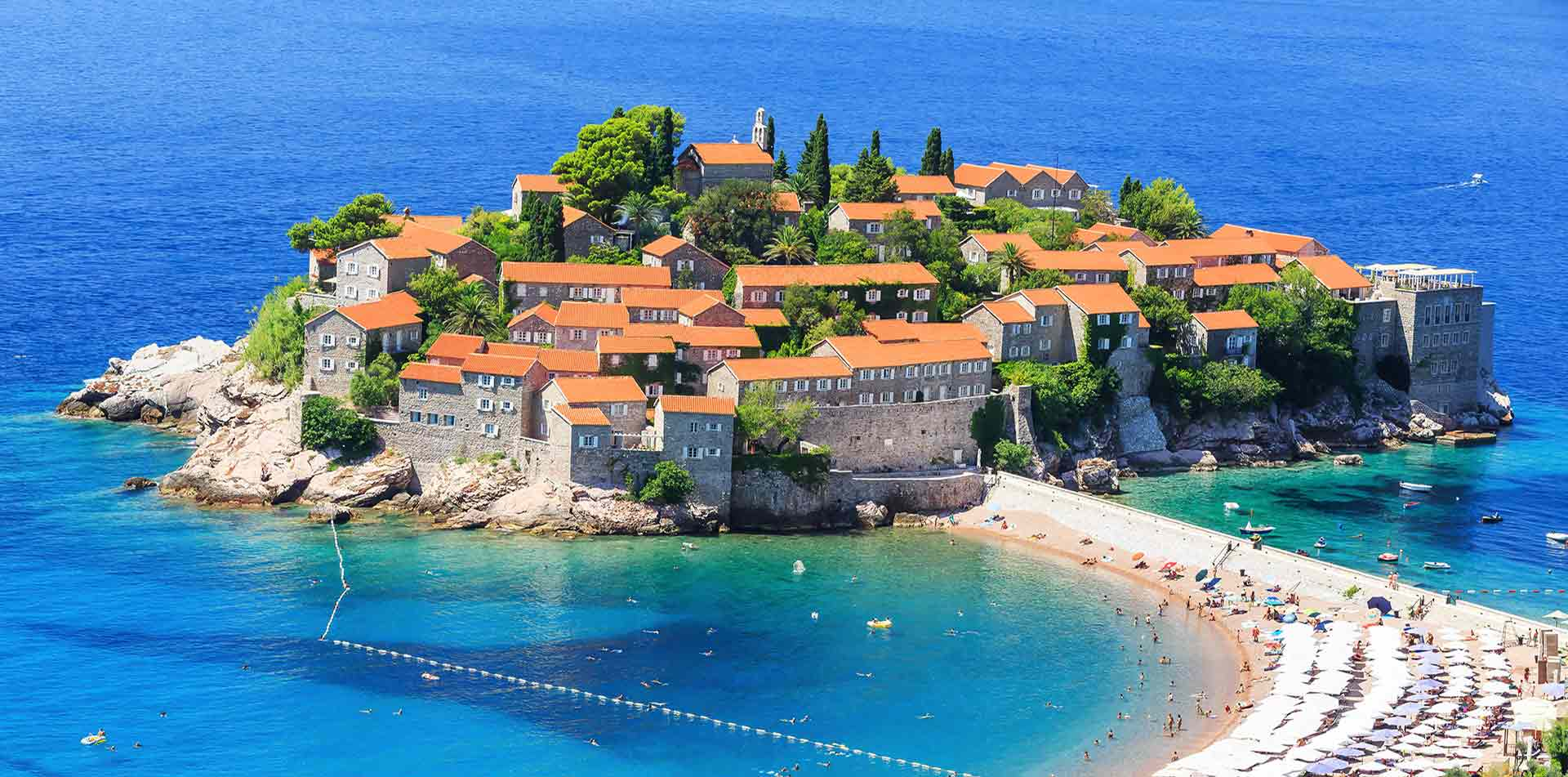 Europe Montenegro Image Water Houses Blue Mountains Viewpoint Hike Travel Tour - luxury vacation destinations