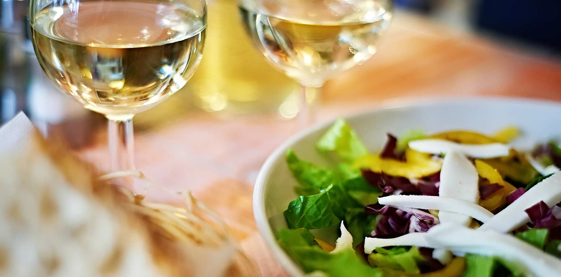 North America United States California Napa Sonoma white wine fresh salad dining - luxury vacation destinations