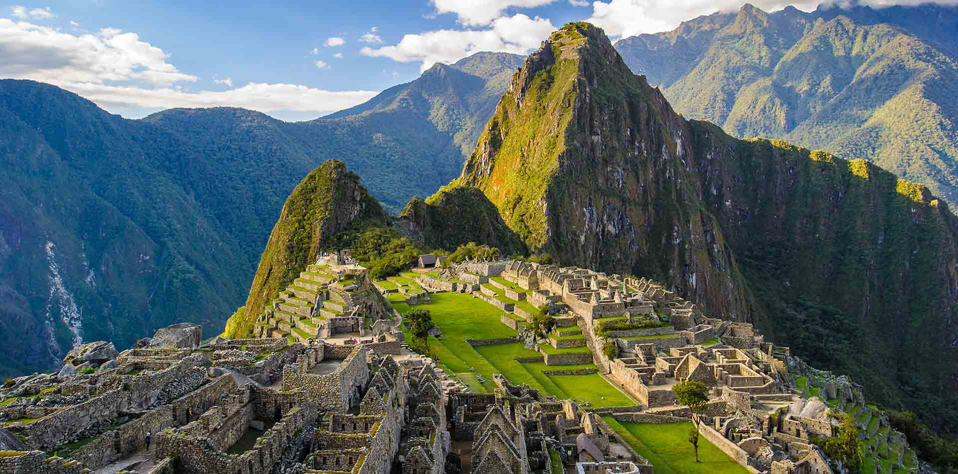 South America Peru scenic Andes Mountains spectacular Machu Picchu ancient Inca ruins - luxury vacation destinations