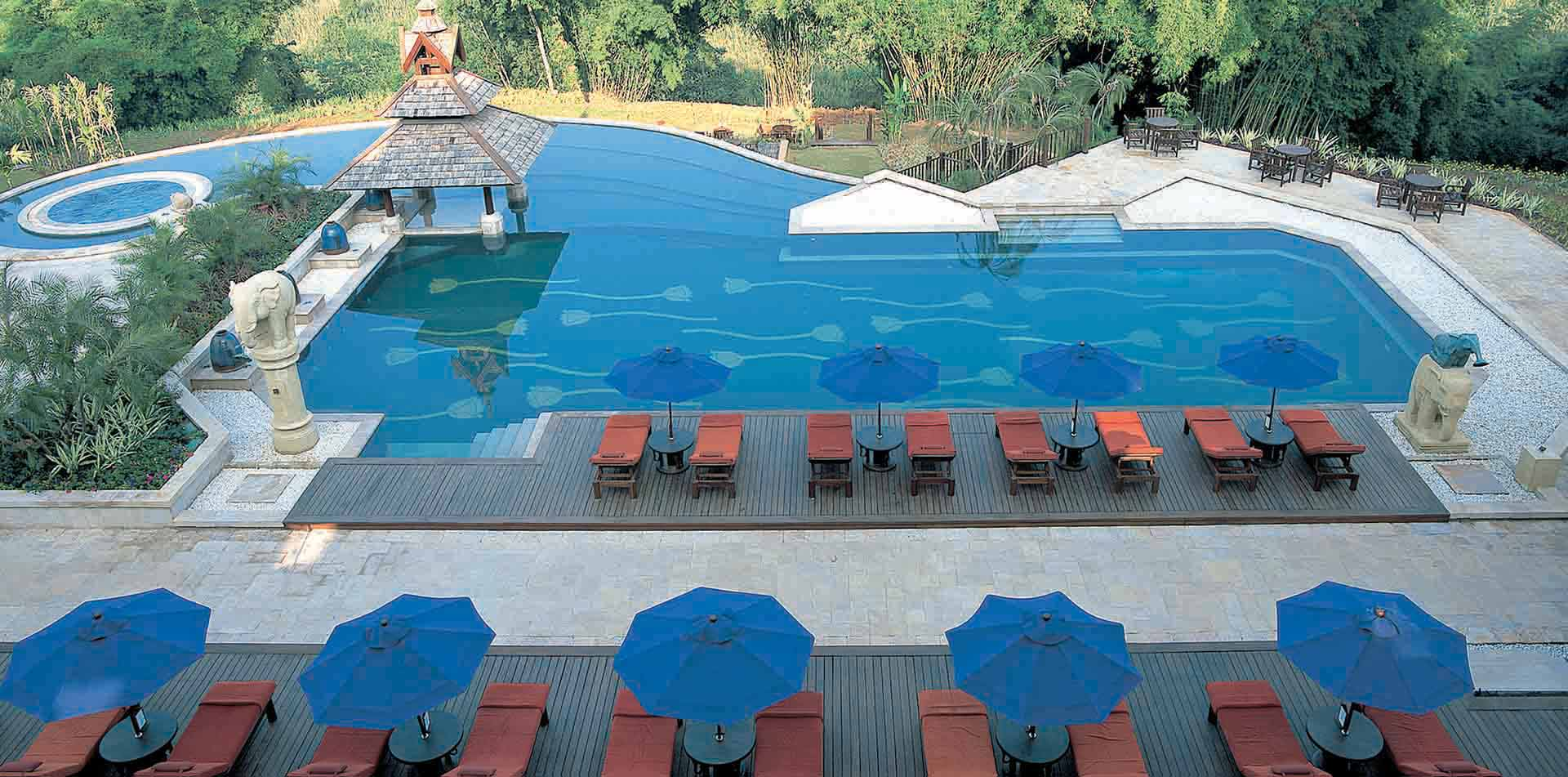 Pool at the Anantara Hotel, Thailand