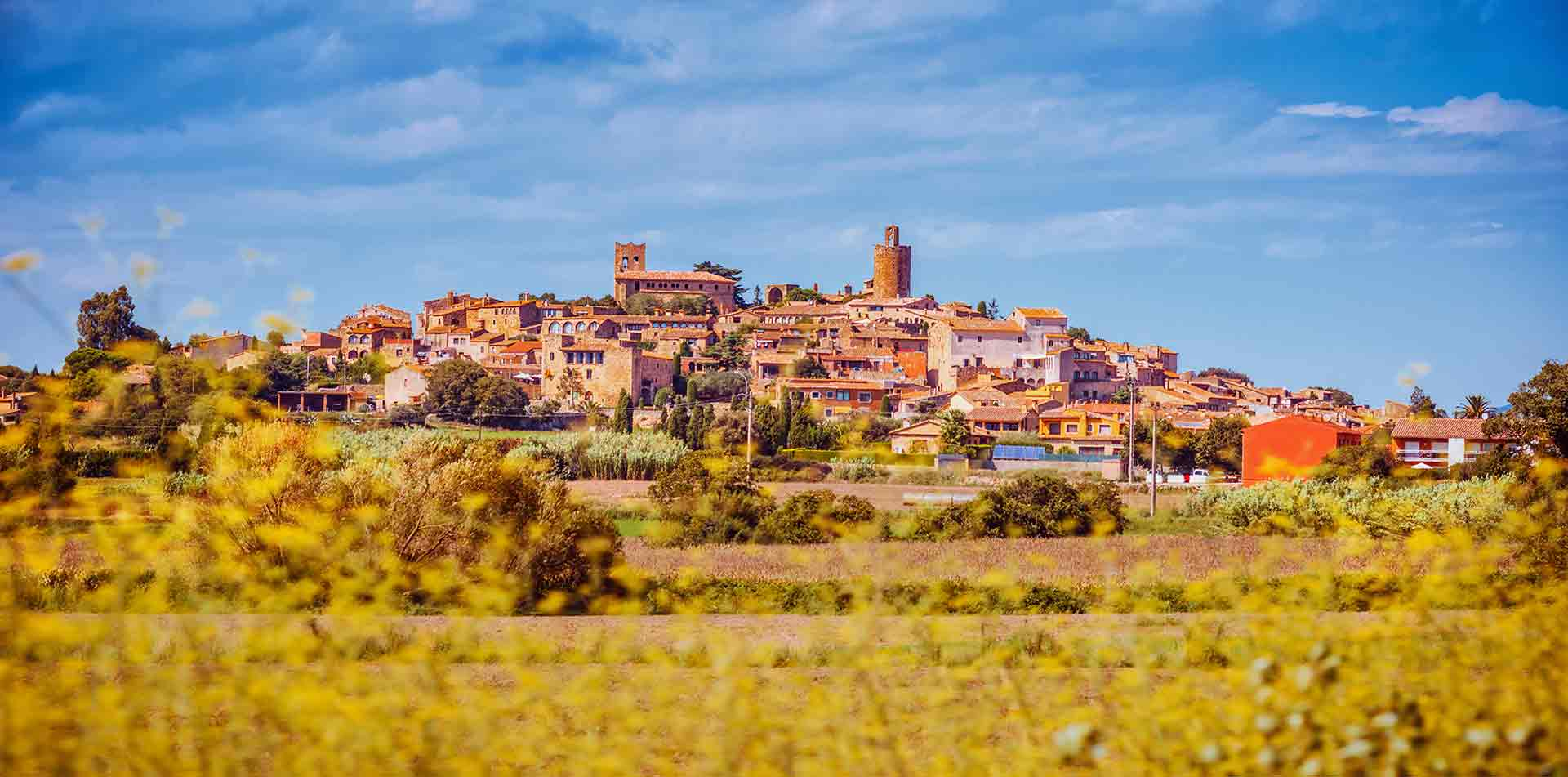 Europe Barcelona Spain Rural Area Scenic Landscape Travel Tour Countryside - luxury vacation destinations