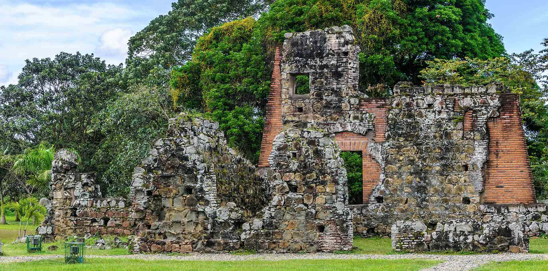 Central America Panama City Viejo ruins of a historic building - luxury vacation destinations