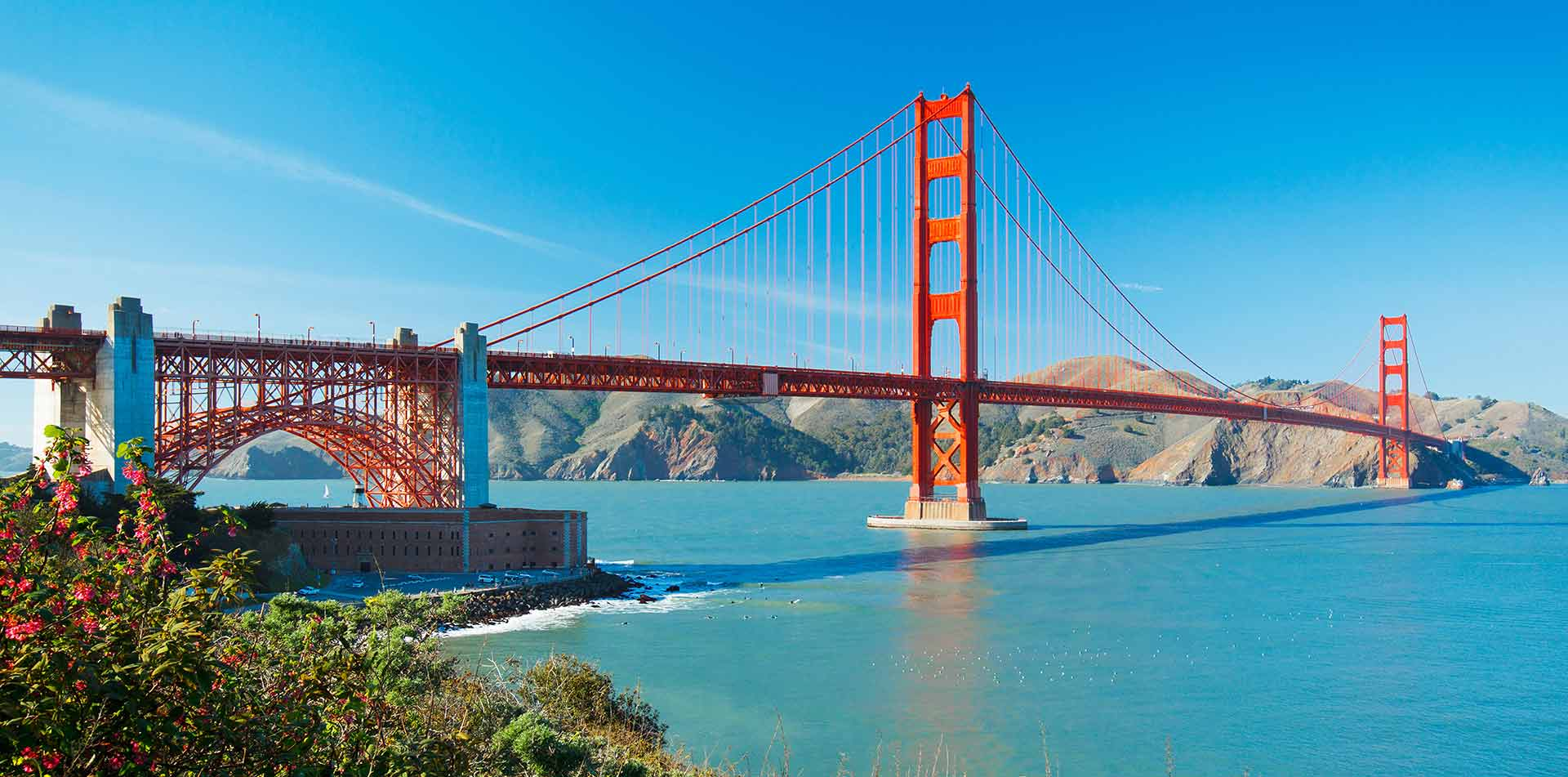 North America United States Northern California San Francisco Golden Gate Bridge bay - luxury vacation destinations
