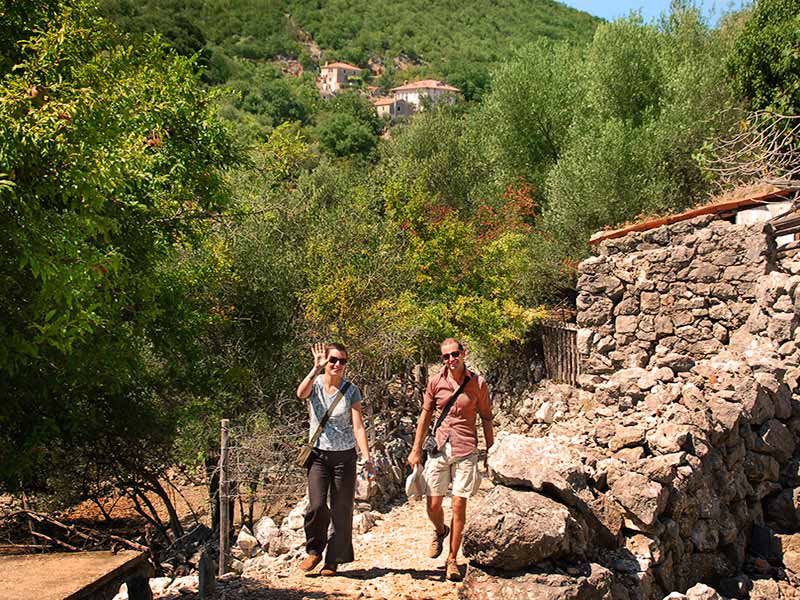 Europe Croatia expert local tour guide walking on trail - Classic Journeys