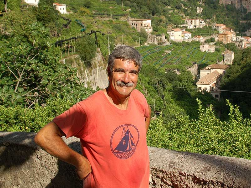 Local guide Sergio in Amalfi, Italy