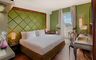 Europe Italy Sicily NH Collection Taormina spacious room with a balcony and view - luxury vacation destinations