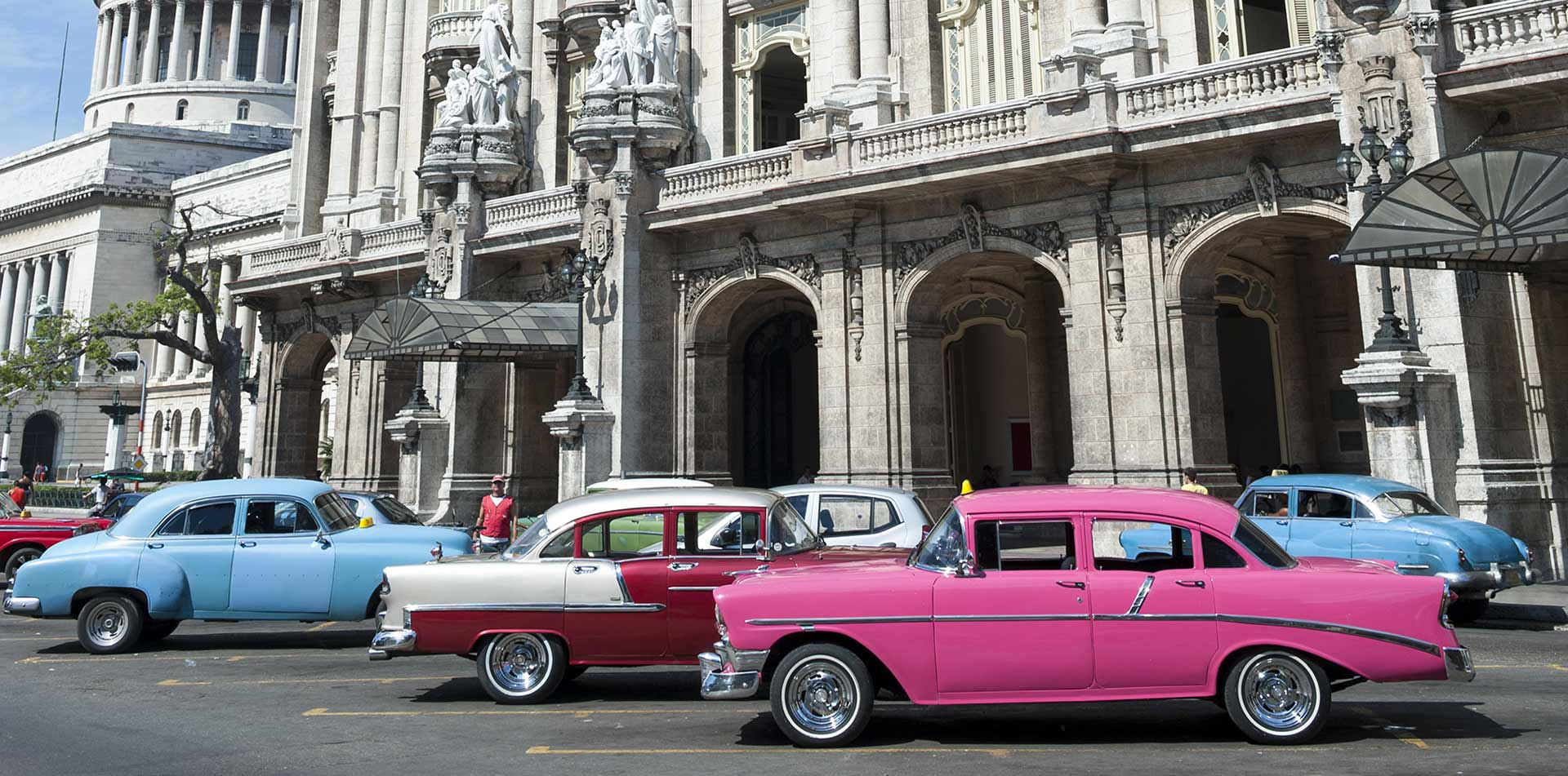 North America Caribbean Cuba Havana classic cars Chevrolet Ford Cadillac Dodge Buick Chrysler - luxury vacation destinations