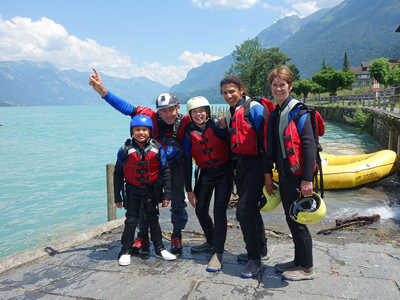 River Rafting in Switzerland