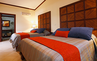 Costa Rcia Bosque del Mar Playa Hermose Hotel Beach Suite Bedroom Guestroom - luxury vacation destinations